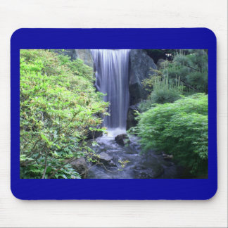 Waterfall at Missouri Botanical Garden Mousepads
