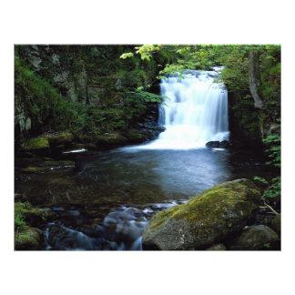 Waterfall at Watersmeet North Devon England Flyer