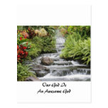 Waterfall - Awesome God Postcards