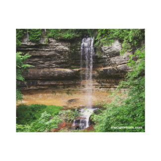 Waterfall Stretched Canvas Prints