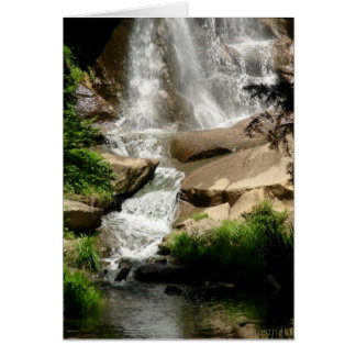 waterfall card