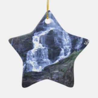 Waterfall Christmas Ornament