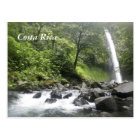 Waterfall, Costa Rica Postcard