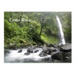 Waterfall, Costa Rica Postcard