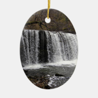 WaterFall country in wales, Brecon beacons Christmas Ornament