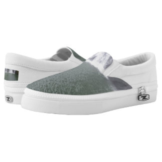 Waterfall Custom Zipz Slip On Shoes,  Men & Women