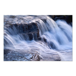 Waterfall detail, East Gill, Keld Photo