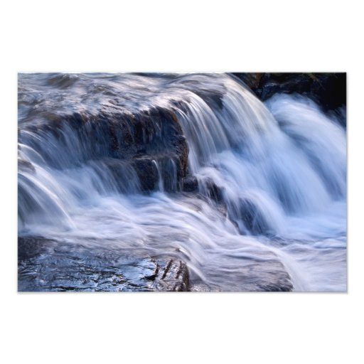 Waterfall detail, East Gill, Keld Photo Art