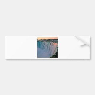 Waterfall Falling Love Niagara Ontario Canada Bumper Sticker