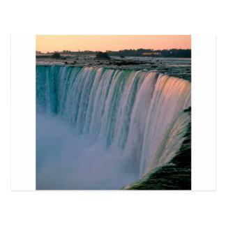 Waterfall Falling Love Niagara Ontario Canada Postcards
