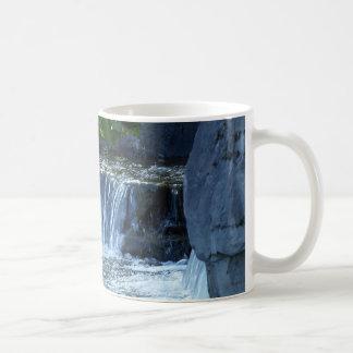 Waterfall Feature Basic White Mug