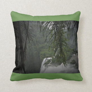 Waterfall Green Cushion