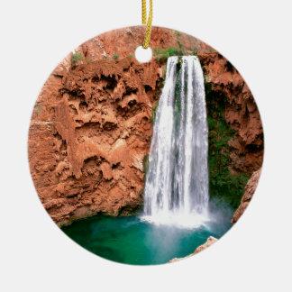 Waterfall Havasupai Mooni Grand Canyon Arizona Christmas Ornament