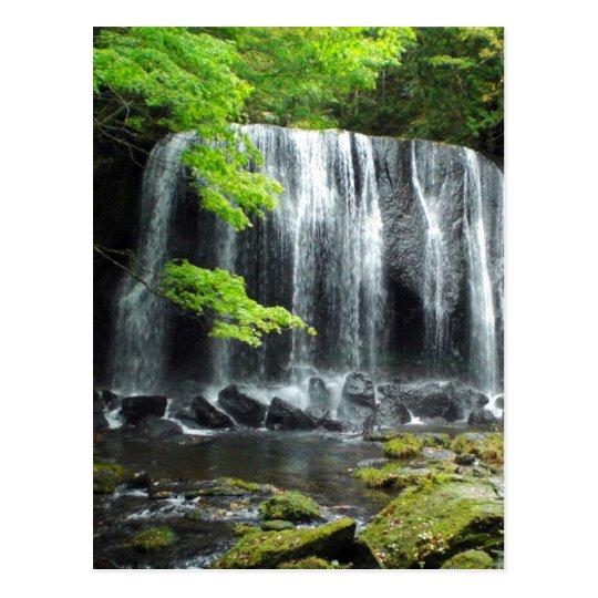 Waterfall in Aizu Postcard