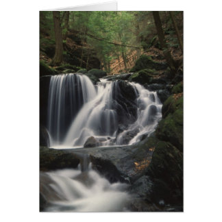 Waterfall in Connecticut Notecards Card