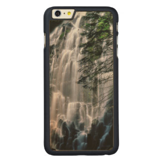 Waterfall in forest, Oregon Carved® Maple iPhone 6 Plus Case