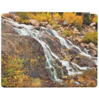 Waterfall In Grand Teton National Park iPad Cover