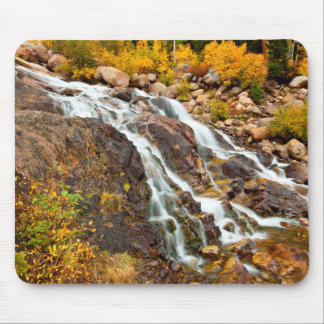 Waterfall In Grand Teton National Park Mouse Mat