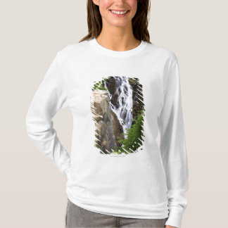 Waterfall in Mount Rainier National Park T-Shirt