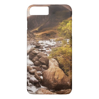 Waterfall In Mountains With Moody Dramatic iPhone 8 Plus/7 Plus Case