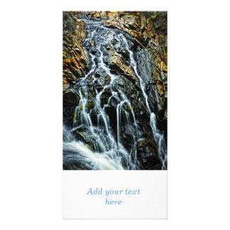 Waterfall in Northern Ontario Canada Photo Greeting Card
