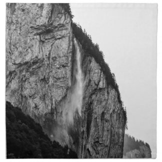 waterfall in Switzerland Napkin