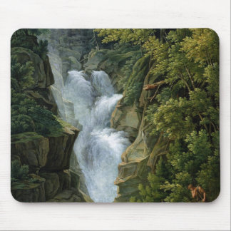 Waterfall in the Bern Highlands, 1796 Mouse Mat