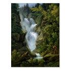 Waterfall in the Bern Highlands, 1796 Postcard