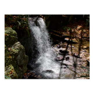 Waterfall in the Blue Ridge Mountains Postcard