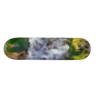 Waterfall in the wild 21.6 cm skateboard deck