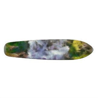 Waterfall in the wild skate deck
