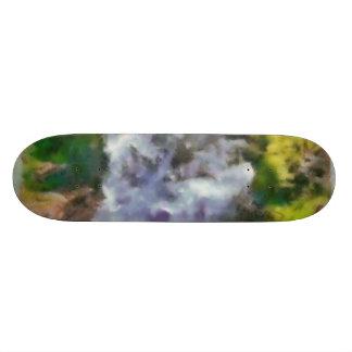 Waterfall in the wild skateboards