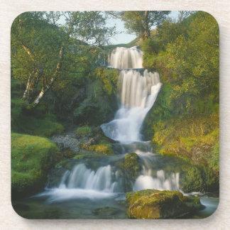 Waterfall, Isle of Skye, Scotland Drink Coasters