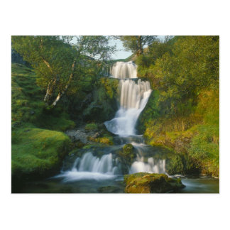 Waterfall, Isle of Skye, Scotland Postcard