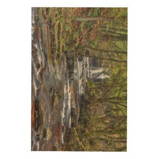 Waterfall Landscape Wood Wall Art