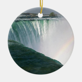Waterfall Nature Spectrum Niagara Falls Christmas Ornament