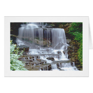 """WATERFALL"" NOTECARD (PHOTOG) NOTE CARD"