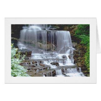 """WATERFALL"" NOTECARD (PHOTOG) NOTE CARD"