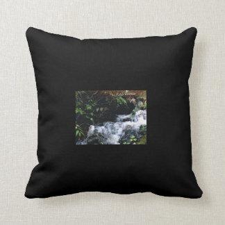 Waterfall Of Big Snowbird Cushion