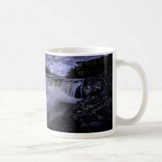 Waterfall Of Venâncios Basic White Mug