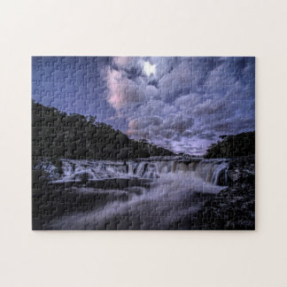 Waterfall Of Venâncios Jigsaw Puzzle