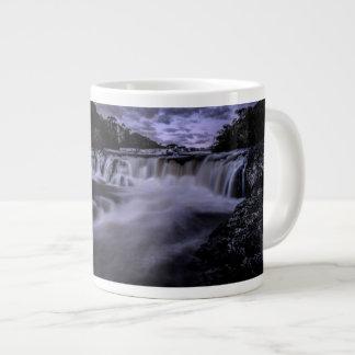 Waterfall Of Venâncios Large Coffee Mug