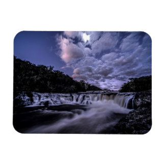 Waterfall Of Venâncios Rectangular Photo Magnet