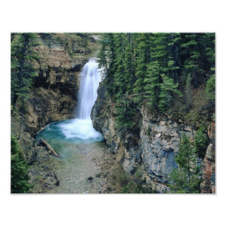 Waterfall on Falls Creek in Lewis and Clark Photo Print