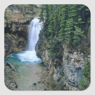 Waterfall on Falls Creek in Lewis and Clark Sticker
