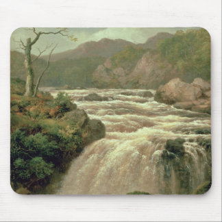 Waterfall on River Neath, South Wales Mouse Mat