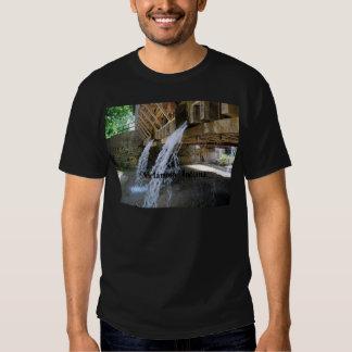Waterfall over a bridge tshirt