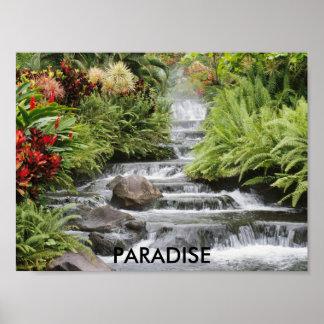 Waterfall, PARADISE Poster