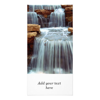 Waterfall Personalised Photo Card