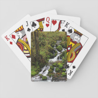 Waterfall photo playing cards